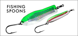 salmon and halibut fishing spoons for sale