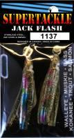 Supertackle Jack Flash 1137 Golden, salmon fishing lure.