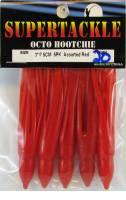 3 inch red hoochies