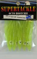 Chartreuse 3 inch hoochies