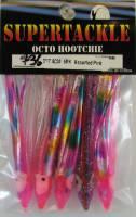 Supertackle laser over pink hoochies