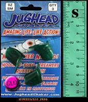 Jughead small green glow salmon teaser head.