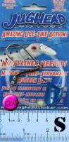 Jughead Shaker bait rig - Sz S Glow Blue