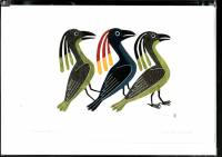 Kenojuak Ashevak - Promenade art card POD1009