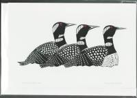 Kenojuak Ashevak - Return of the Loons art card c3018