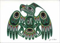 Joe Wilson - Totem Eagle art card ac151