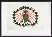 Kenojuak Ashevak - Majestic Owl art card POD1010