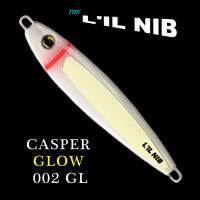 Casper Glow salmon fishing jigging lure by Lil Nib