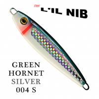 Green Hornet salmon fishing jig by Lil Nib profile