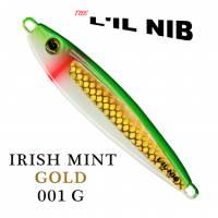 Irish Mist Gold Lil Nib fishing Lure profile.