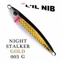 Night Stalker Gold, black and white by Lil Nib profile.