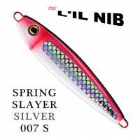 Lil Nib Spring Slayer ultra violet salmon jigging lure.