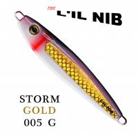 Storm Gold Lil Nib Lure packaged