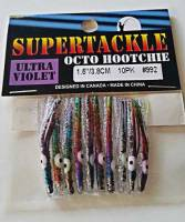 "1.5"" - 992 Chevron kokanee trout fishing hoochies lures"