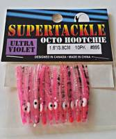 "1.5"" - 995 Gaga kokanee trout fishing hoochies lures"
