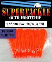 Crush, orange kokanee hoochies by Supertackle.