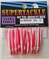 """1.5"""" - 034 Jaw Breaker kokanee trout fishing hoochies lures"""