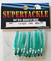 "1.5"" - 054 Car 54 kokanee trout fishing hoochies lures"
