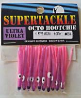 "1.5"" - 084 Nurple kokanee trout fishing hoochies lures"