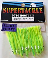 "1.5"" - 105 Limey kokanee trout fishing hoochies lures"