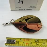 "#29 • 2¼"" P1A Brass Copper 50/50 spoon blade"