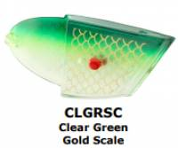RHYS DAVIS Large Teaser CLEAR GREEN Gold SCALE 1/pc