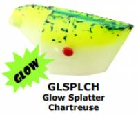 RHYS DAVIS Super Herring Teaser GLOW SPATTER CHARTREUSE 1/pc