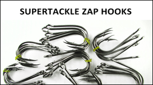 Supertackle Zap fishing hooks