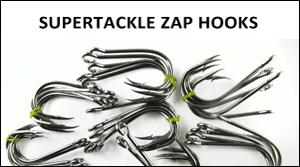 Supertackle Zap fishing hooks